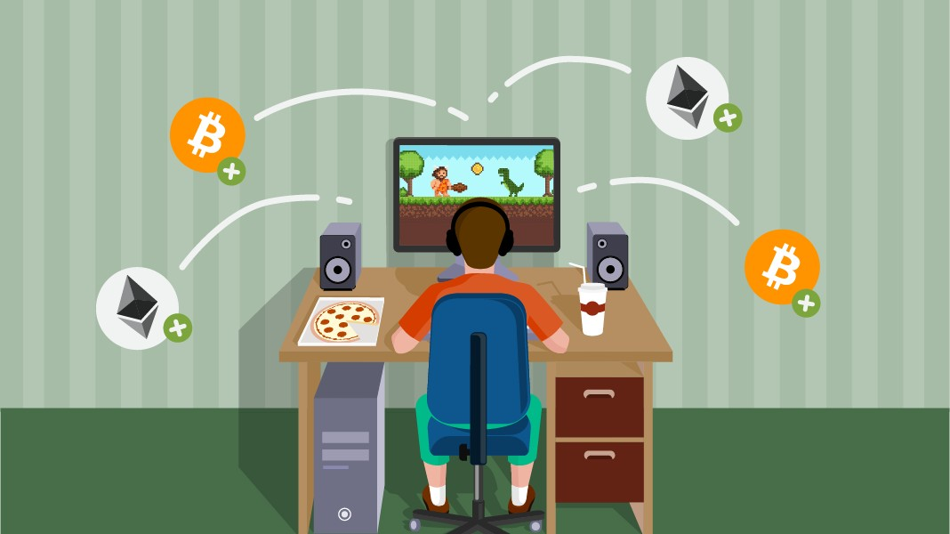 earning cryptocurrencies with nft games